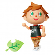NINTENDO World of Nintendo Villager Action Figure, 10cm