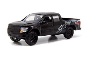 Black Jada Just Trucks 13cm 2011 Ford F-150 SVT Raptor Pickup 1/32 Scale Truck with Pullback Action by Jada Toys