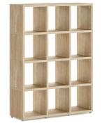 Modular 12 Cube Oak
