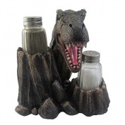 """Din-O-Saur"" T-Rex Head Salt And Pepper Shaker #244"