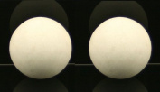 MassageMaster Hot Stone Massage PAIR OF MARBLE COLD STONE SPHERES