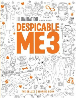 Despicable Me 3: The Deluxe Coloring Book