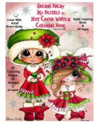 Sherri Baldy My-Besties Hot Cocoa Christmas Coloring Book