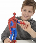HotEnergy Spider Man Model Titan Hero Series Spider-Man Doll Can Be Moving Accidentally