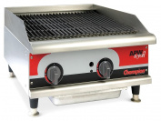 APW Wyott - GCB-24I - 80000 BtuH Stainless Steel and Aluminized Steel Gas Radiant Charbroiler