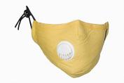 PM2.5 Yellow Dust Mask with Exhale Valve + 4 N99 Filter Set