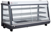 EQ Commercial Countertop Hot Display Restaurant Cabinet with Tempered Glass