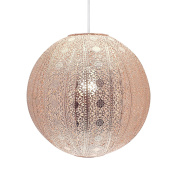 Moroccan Ball Ceiling Light Fitting Lamp Shade Modern Chandelier - Copper