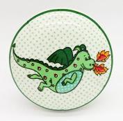 Green Dragon Ceramic Door Knob Vintage Shabby Chic Cupboard Drawer Pull Handle 4557