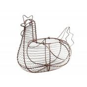 Rustic Wire Hen Egg Basket