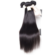BeautyGrace 7A Peruvian Virgin Hair Straight Unprocessed Human Hair Bundles 3Pcs/ Lot Natural Black