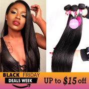 Isee Hair 6a Malaysian Straight Hair 3 Bundles Virgin Unprocessed Human Hair Wefts 300 Grammes Hair Extensions Deal With Mixed Lengths