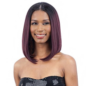 OVAL PART LONG BOB (1 Jet Black) - FreeTress Synthetic Wig