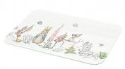 Beatrix Potter Peter Rabbit Classic - Glass Worktop Protector Chopping Board