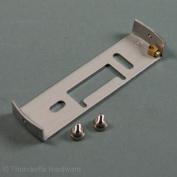 Lighting Fixture Ceiling Plate Bracket Plate Earthed 100mm with Nickel Screws