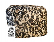 CozyCoverUp® for Kenwood Chef Classic; Food Mixer Cover Crowded Cows Pattern 100% Cotton