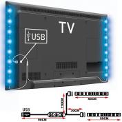 TOP-MAX® Modern Colour Changing 5V RGB 5050 LED Strip TV PC Back Mood Lighting