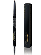 Aesthetica Precision Brow Liner - Double Ended Eyebrow Pencil / Spoolie Brush - Smudge Proof Formula - Vegan & Cruelty Free
