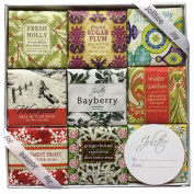 French Milled Soap Sampler in Nine Fabulous Scents