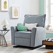 Baby Relax Raleigh Gliding Recliner, Grey