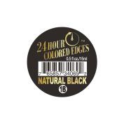 24 Hour Coloured Edges #1B Natural Black 0.5oz/15ml + 1 Free Sample