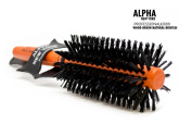 PROFESSIONAL ROUND WOOD BRUSH #3009 BY ALPHA NEW YORK