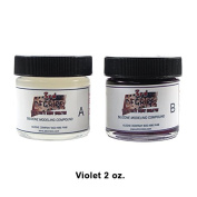 3rd Degree Silicone Moulding Compound Wound Scar Prosthetic SFX Simulation, Violet 60ml