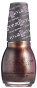 SinfulColors Kylie Jenner Trend MATTErs Collection Pure Velvet Mattes, I Klove U (Dark Maroon/Gold Pearl) 15ml