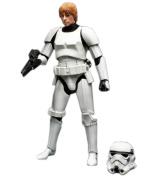 Star Wars Black Series 15cm figures Luke Skywalker in storm trooper total length 15cm painted action figure