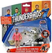 Thunderbirds Are Go Brains & M.A.X. 9.5cm Action Figure 2-Pack M.A.X.