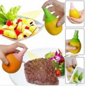 Smartlife 2Pcs/set Creative Lemon Sprayer Citrus Lime Juicer Spritzer Kitchen Gadgets Spray Fresh Fruit Juice Random Colour