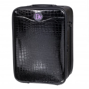 Travel Box for Wigs (50cm ) Long Neck Crocodile Print