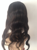 VRwig Unprocessed Body Wave 7A Brazilian Virgin Human Hair 360 Lace Frontal Front Wigs Cap Without Hair Weft Natural
