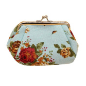 Clutch Bag, Misaky Women Lady Retro Vintage Flower Small Wallet Hasp Purse