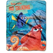 Disney Pixars Finding Dory No Talking 40 x 50 Silk Touch Throw