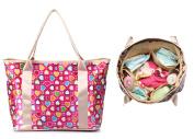 iSuperb Nappy Handbag Mummy Tote Bag Roomy Nursing Shoulder Bag 14.6 x 29cm x 16cm