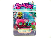 Zoobles Seagonia Collection Marsea and Goldie Mini Figure Set with Happitat