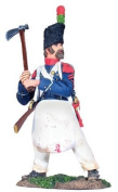 French Light Infantry Sapper #1, Napoleonic Wars Toy Soldier, W. Britain 36004