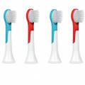 iHealthia 4-pack Philips Sonicare for Kids Compact Replacement Toothbrush Heads HX6032, Ages 4 - 7
