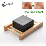 Her name Soap Charcoal removed Blackhead clean oil-control glycerin Moisturising skin care beauty acne remove