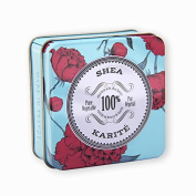 La Chatelaine 100% Pure Vegetable Based Triple Milled Soap in A Tin, Enriched with Organic Shea Butter, Luxury Tin Gift Box, Extra-Gentle Bar, Made in France, Paraben Free, Shea, 100ml
