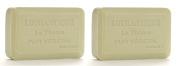 Lothantique Authentique Linden Shea Butter Vegetable Bar Soap - 2 Bars, 200g Each