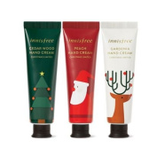 Innisfree Jeju Perfumed Hand Cream Christmas Gift Set [Limited 2016]