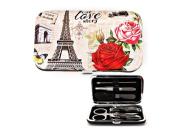 Paris Rose Romantic Journey Manicure Set