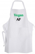 Vegan AF – Adult Size Apron Chef Cook Kitchen
