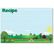 Cookbook People Recipe Cards 4x6 Sunrise Family Farm 40ea