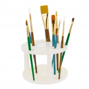 U.S. Art Supply Plastic Artist Paint Brush Holder