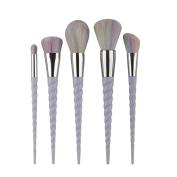 MakeUp Brush Set,Siniao 5PCS Make Up Foundation Eyebrow Eyeliner Blush Cosmetic Concealer Brushes