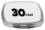 Rikki Knight Compact Mirror, 30ish-Birthday-A Happy 30th Birthday, 150ml