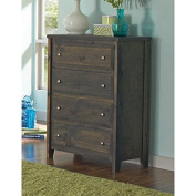 Coaster Home Furnishings 400835 Wrangle Hill Collection 4 Drawer Chest, NULL